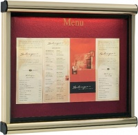 Athena Menu Case External Illuminated