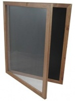 Hinged Poster Holder Chalkboard