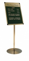 Perseus Stand Mounted Letterboard