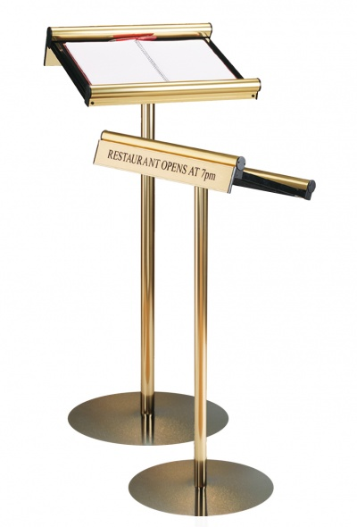 Athena Maitre \'d\' Stand - packprodisplays.co.uk
