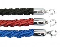 Twisted Rope Chrome Ends