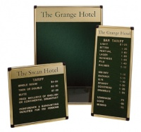 Perseus Wall Mounted Letterboard