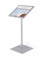 External Aluminium Menu Stand Illuminated